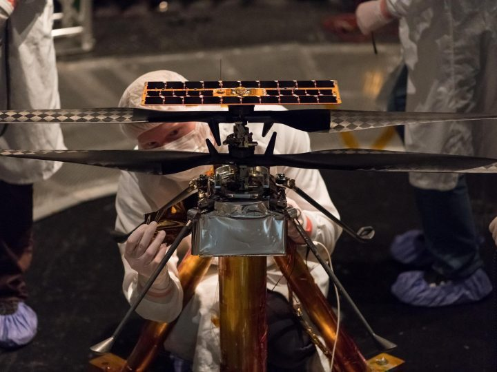 How NASA Designed a Helicopter That Could Fly Autonomously on Mars