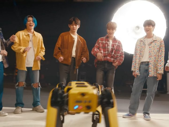 Video Friday: Spot Meets BTS